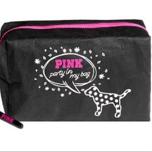 "Victoria's Secret ""Pink"" Cosmetic Make up Bag"